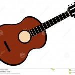 dessin de guitare