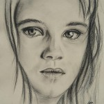 dessin de jeune fille