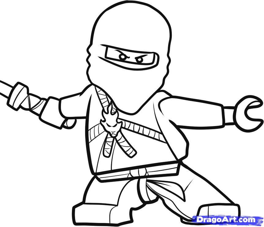 Dessin de ninjago 4 - Dessin de ninjago ...