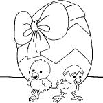 dessin de paques