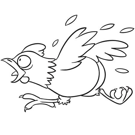 Dessin de poule 7 - Coq a dessiner ...