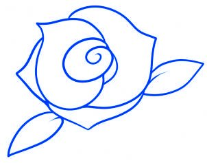 Dessin De Rose 3