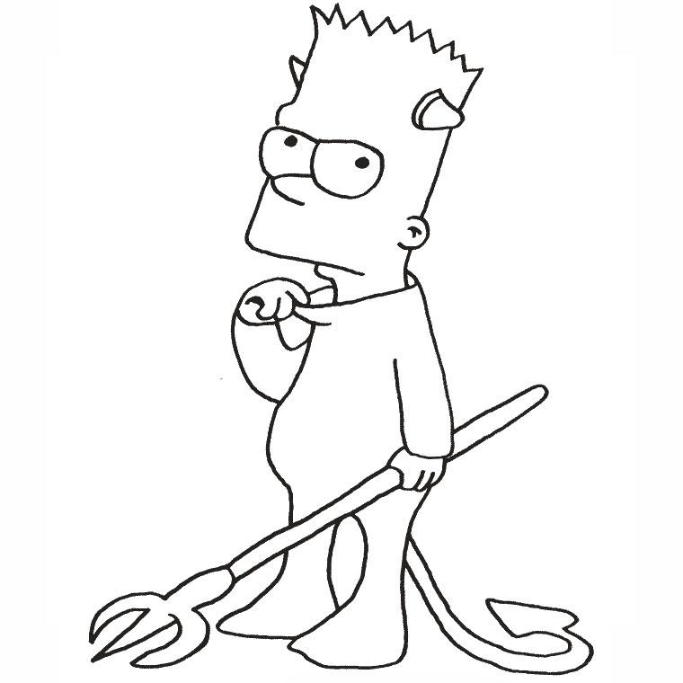 dessin de simpson