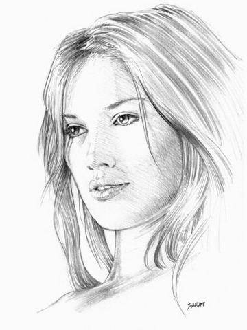 Dessin de visage 4 - Visage profil dessin ...