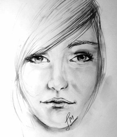 Dessin de visage 6 - Visage profil dessin ...
