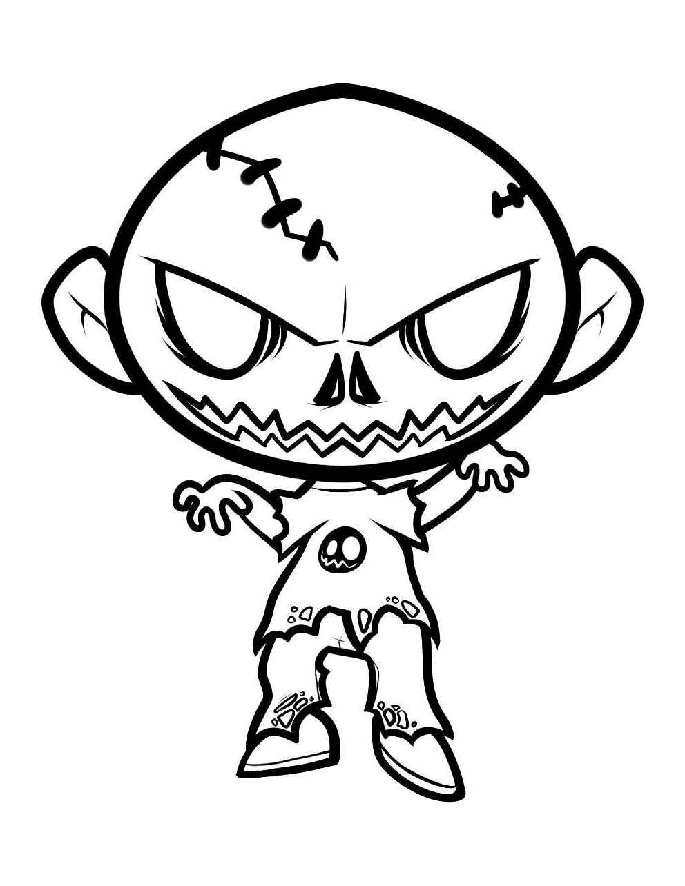 Dessin De Zombie 3