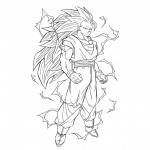 dragon ball z de dessin