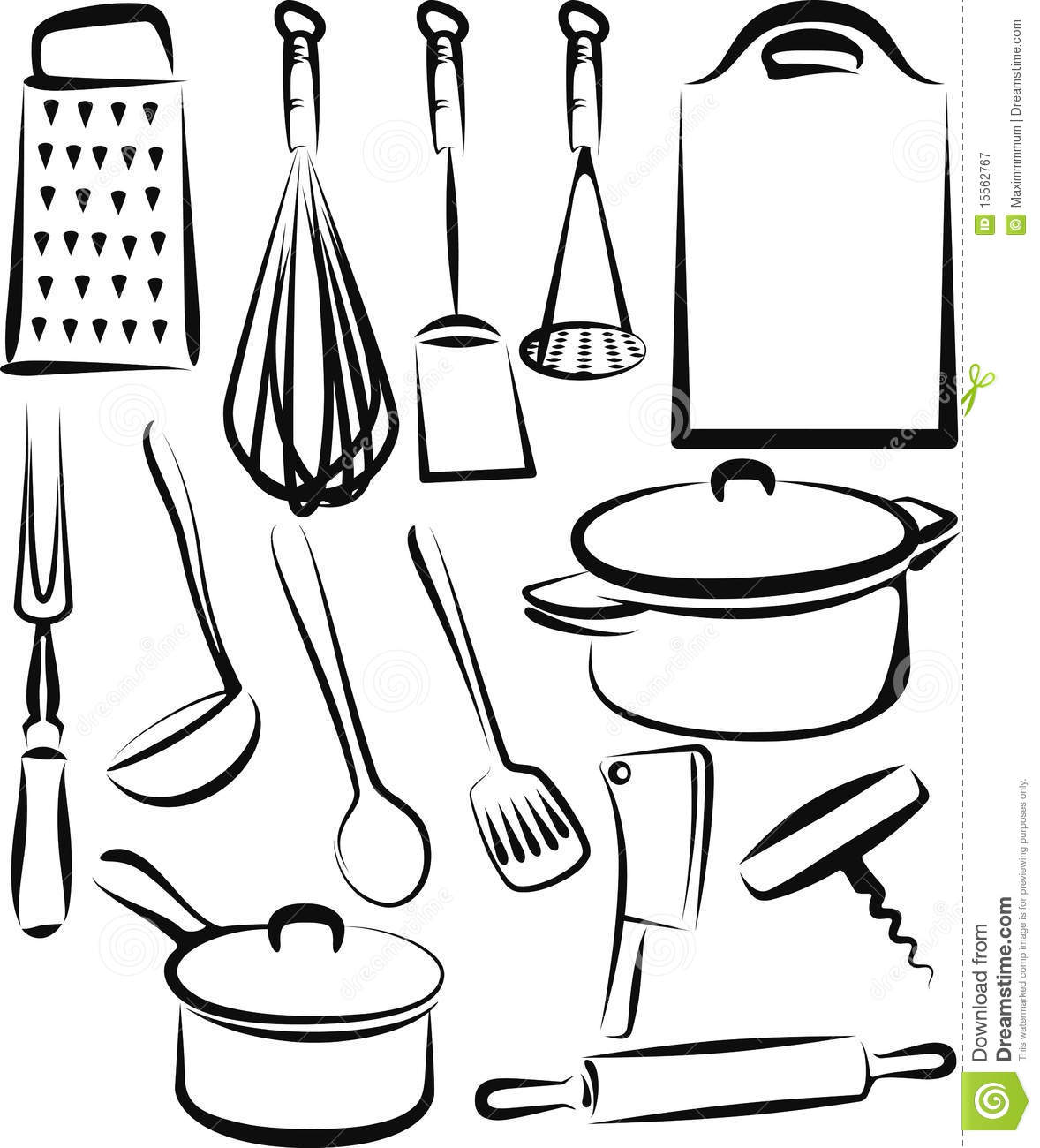 Holiday Coloring Pages Chef Page