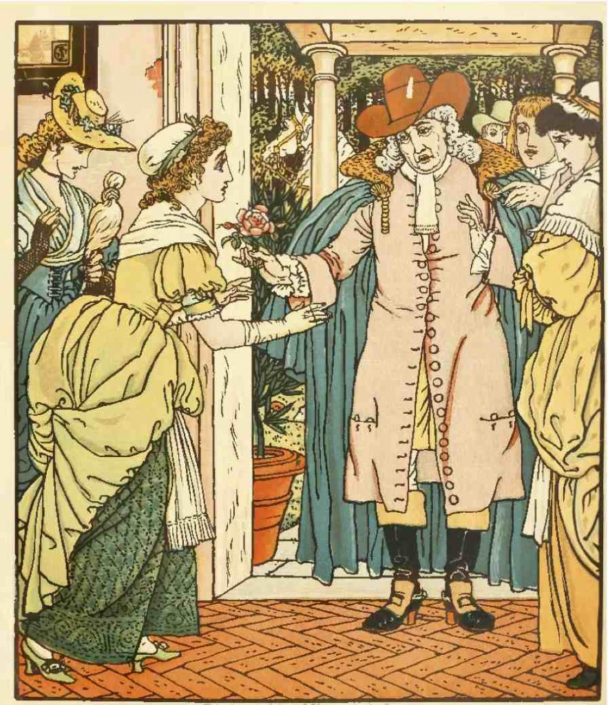 illustration de walter crane