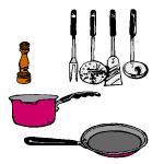 image de ustensile de cuisine