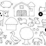 dessin d animaux de la ferme