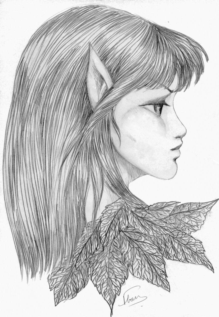 Dessin d elfe 2 - Profil dessin ...