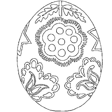 dessin d oeuf de paques - Oeuf De Paques A Colorier