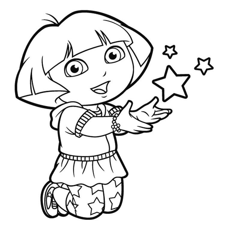 dessin de dora