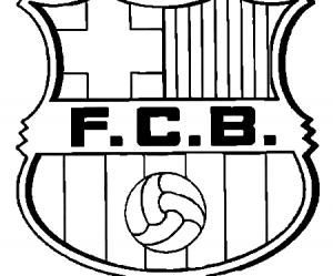 dessin de f.c.barcelona