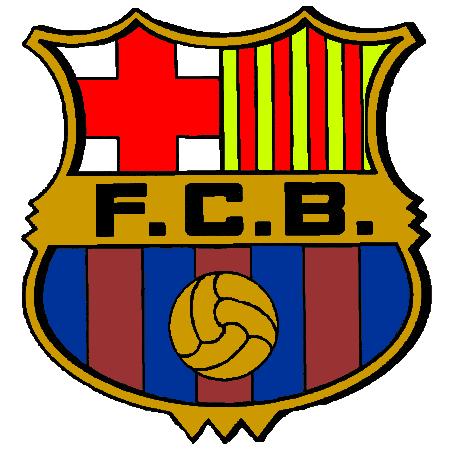 Coloriage Maillot De Foot Barcelone.Ecusson Barcelone Foot Colorier Les Enfants Marnfozine Com