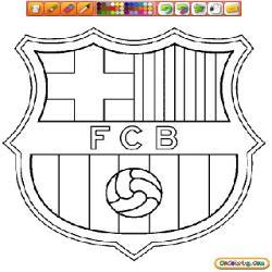 Dessin de f 9 - Logo barcelone foot ...