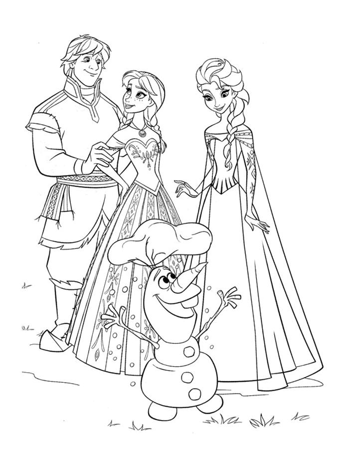 Dessin de la reine des neiges - De la reine des neiges ...