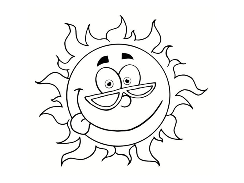 Dessin De Soleil 7