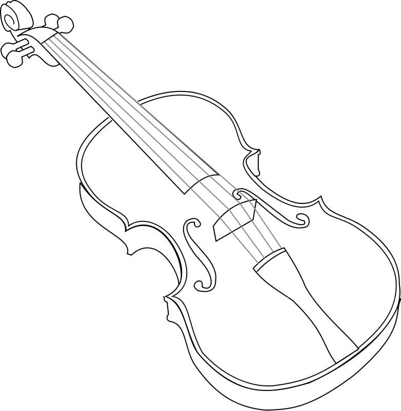 Dessin De Violon dessin de violon (6)