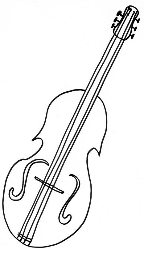 Dessin de violon 9 - Comment dessiner un enfant ...