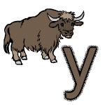 dessin de yack