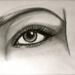 dessin de yeux