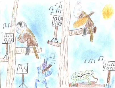 illustration de la poesie bonjour