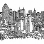 illustration de new york