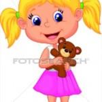 illustration de petite fille