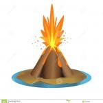illustration de volcan