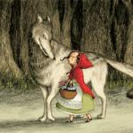 l illustration de le chaperon rouge