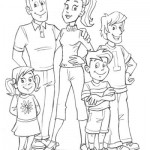 le dessin de la famille