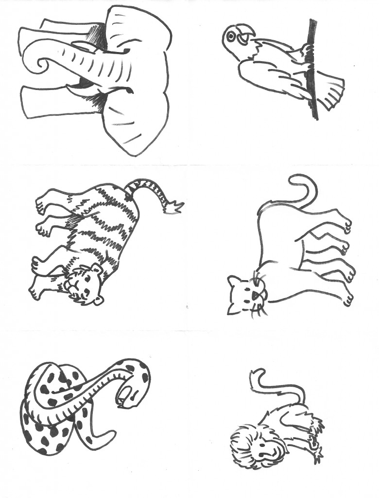 Dessin d animaux de la jungle 4 - Dessin d animeaux ...