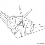 dessin d avion de chasse