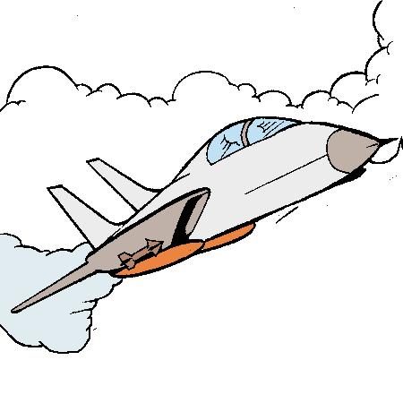 Dessin d avion de chasse 5 - Dessin d avion facile ...
