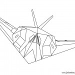dessin d avion de guerre