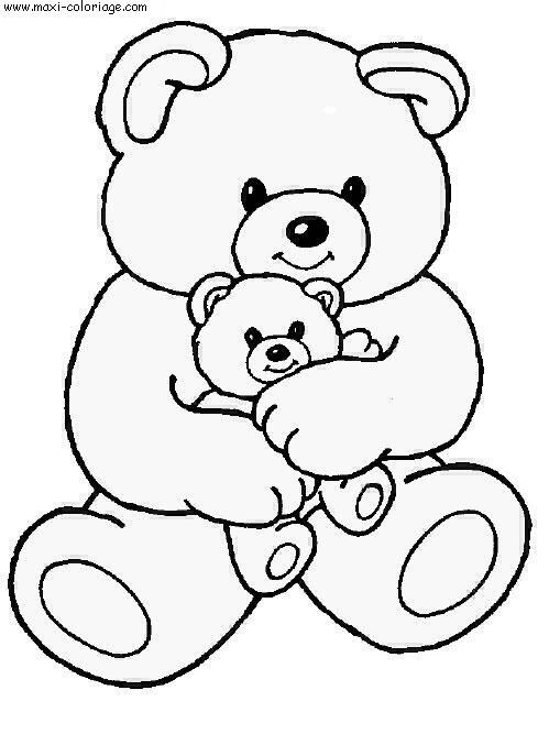 dessin d ourson