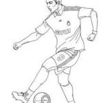dessin de c.ronaldo a imprimer