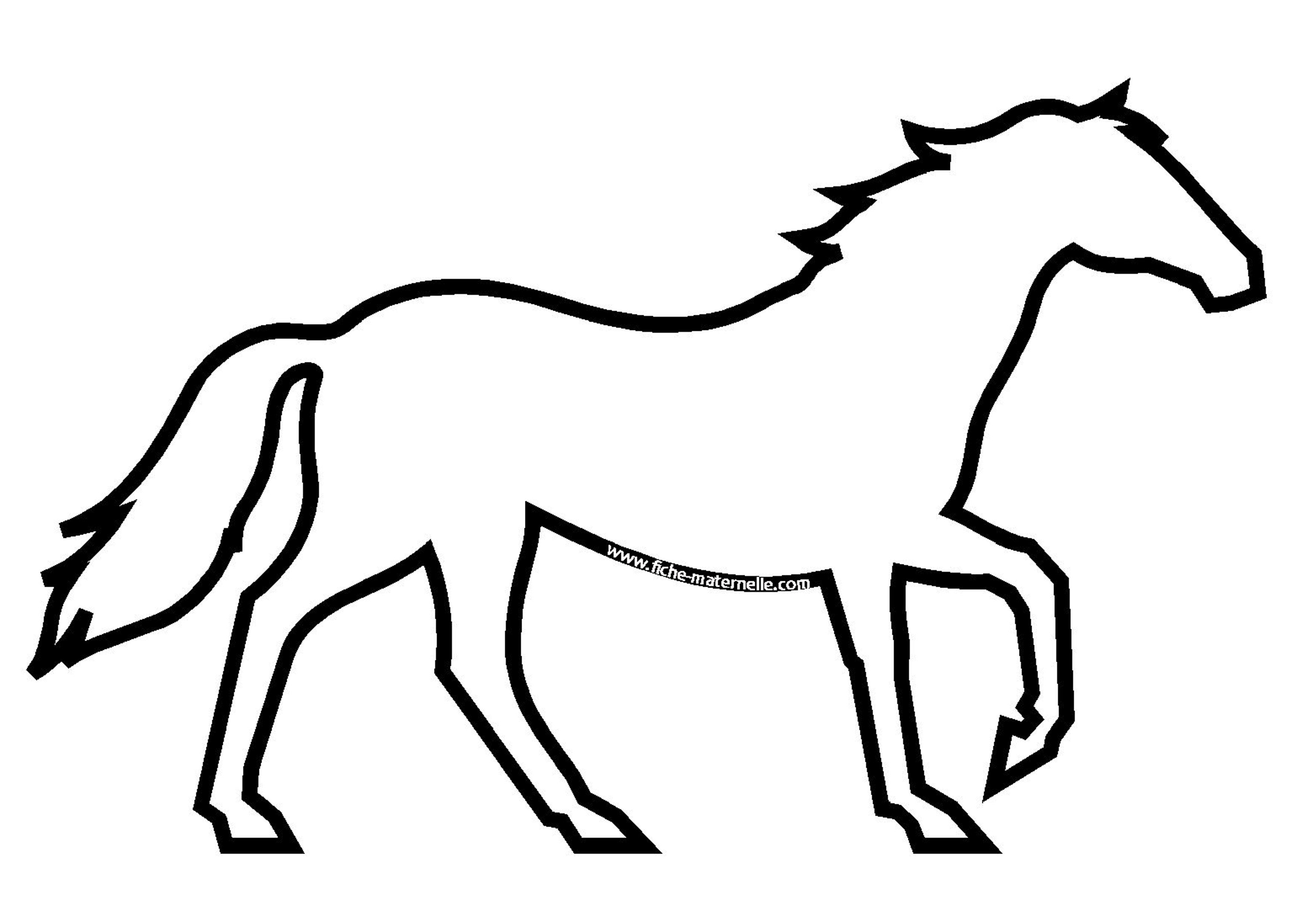 dessin de cheval (7)