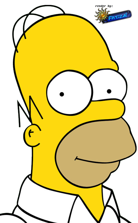 Dessin de homer simpson 7 - Dessin homer simpson ...