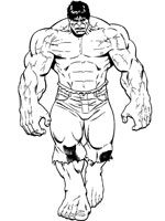 Dessin De Hulk 4