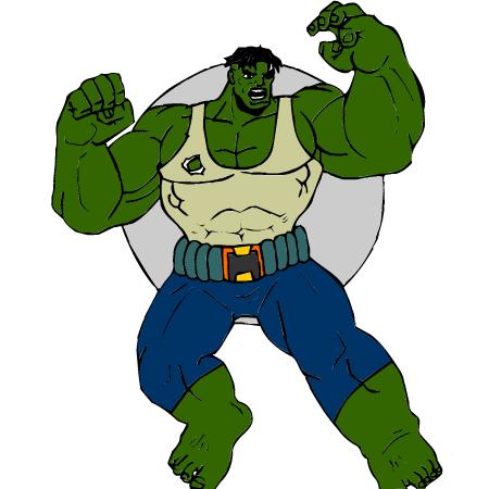 Dessin De Hulk 6