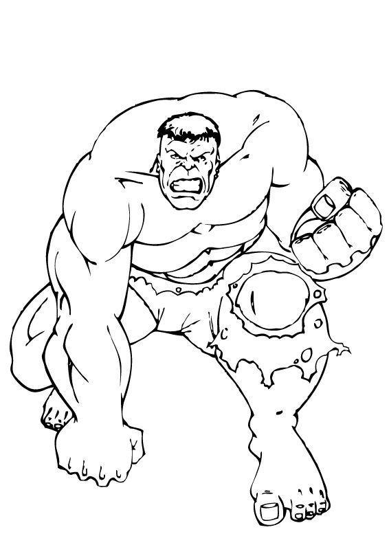Dessin De Hulk 7