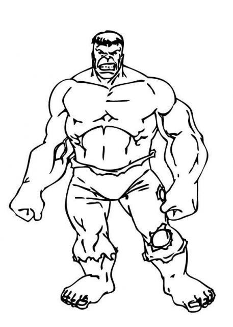 Dessin De Hulk 9