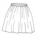 dessin de jupe