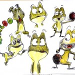 dessin de kaeloo
