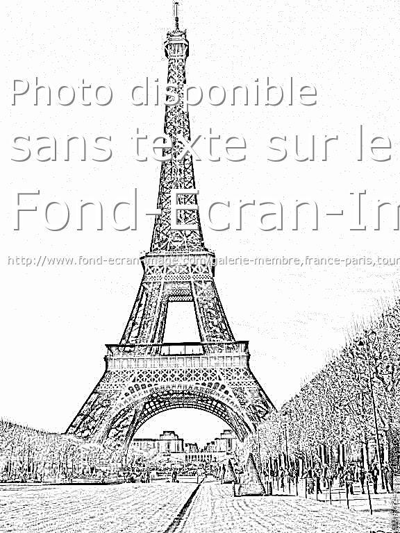 Dessin de la tour eiffel 7 - Dessin tour eiffel a imprimer ...