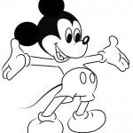 dessin de mickey