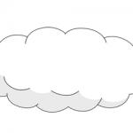 dessin de nuage